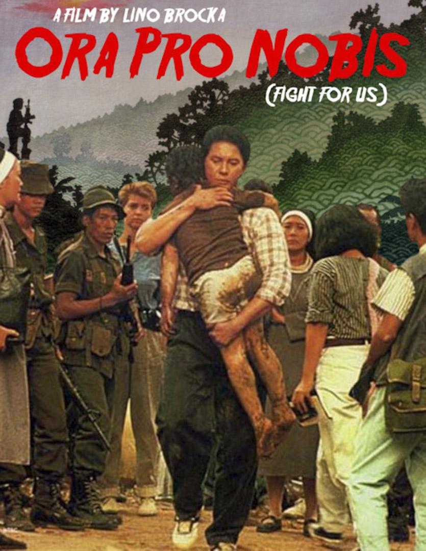 菲律賓知名電影導演利諾.布洛卡(Lino Brocka)在1989年拍攝的電影《為我們奮戰》(*Orapronobis*),講述解嚴之後的菲國人民不但沒有因為民主化而過上更好的生活,反而因為國家持續使用暴力的治理手段,讓他們陷入更加徬徨無助的處境。