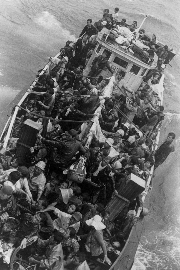 載有數百名越南難民的船隻,由美國艦隊所拯救,並護送至香港。這些難民當時暫時留在香港,直到香港政府安排他們移民到其他國家為止。