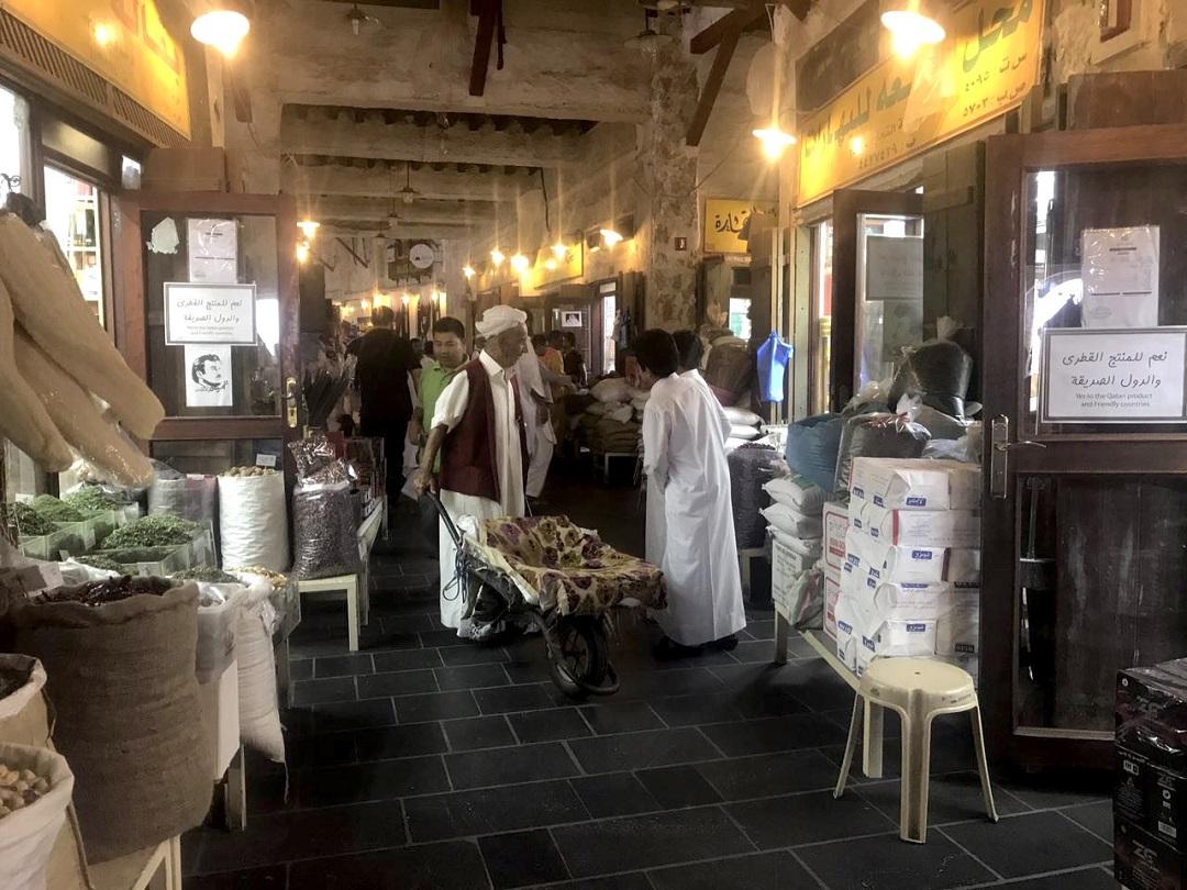 杜哈的瓦奇夫市集是當地民眾生活與購物中心。