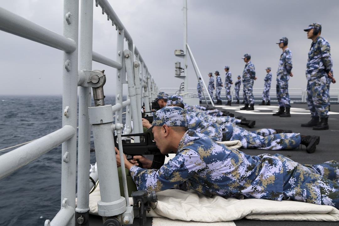 中國人民解放軍海軍南海艦隊於2017年2月中旬進行為期五天演習。