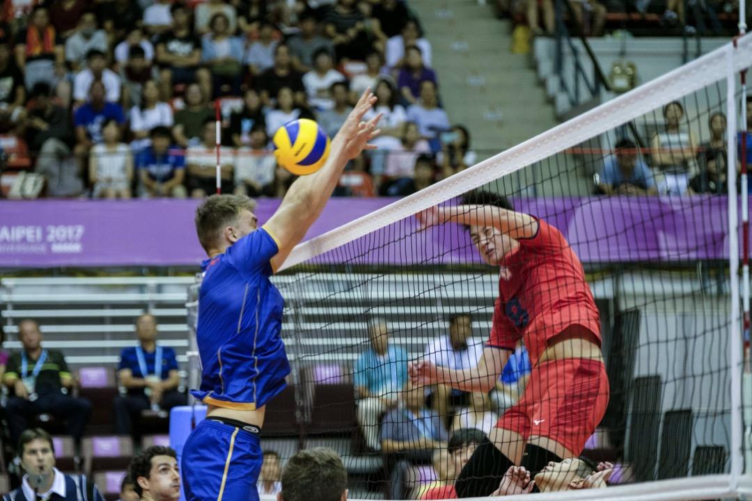 2017年8月20日,世大運舉行中華台北對法國的排球賽事。