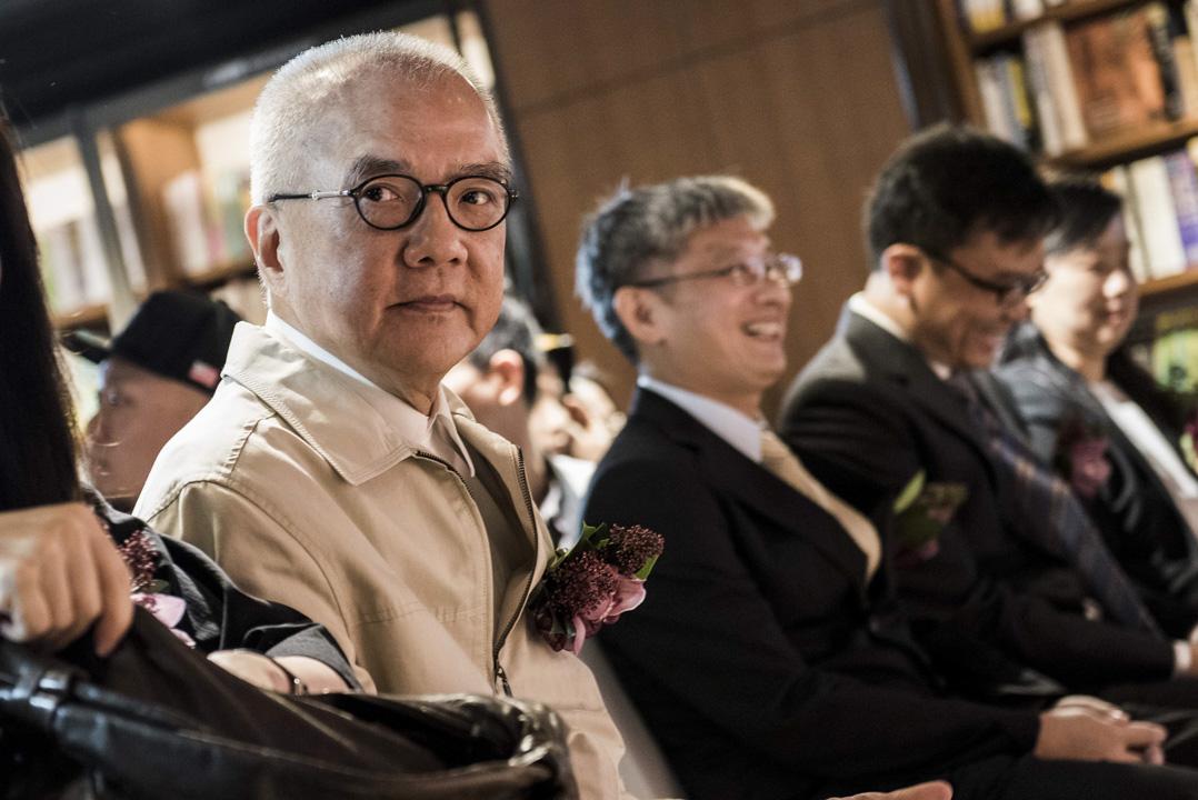 2015年10月8日,誠品創辦人吳清友出席香港誠品尖沙咀分店開幕儀式。 攝:Xaume Olleros/Bloomberg via Getty Images Restrictions