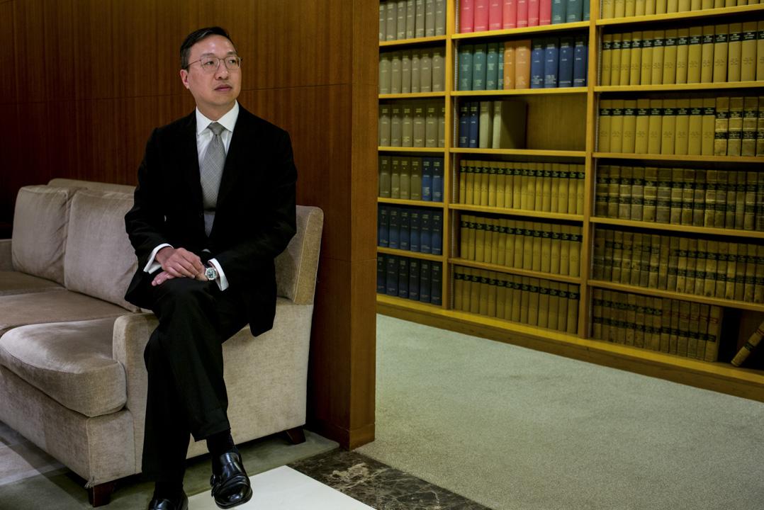 大律師公會現任主席林定國。
