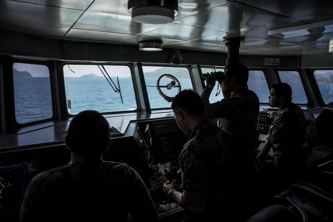 2016年8月16日,印尼海事與漁農部的巡邏艇駛往位於中國南海爭議海域和納土納海域的納土納群島,準備在印尼的專屬經濟區一帶巡邏。