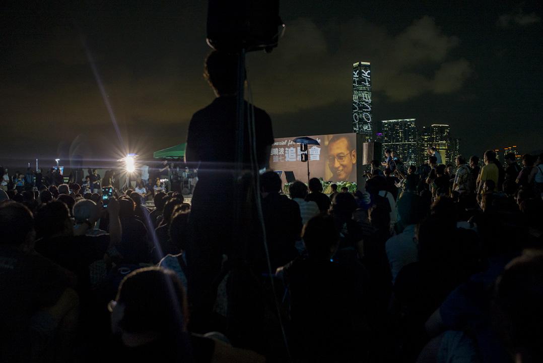 2017年7月19日,諾貝爾和平獎得主劉曉波「頭七」的日子,支聯會於全球發起公祭,於添馬公園發起追思會以作悼念。