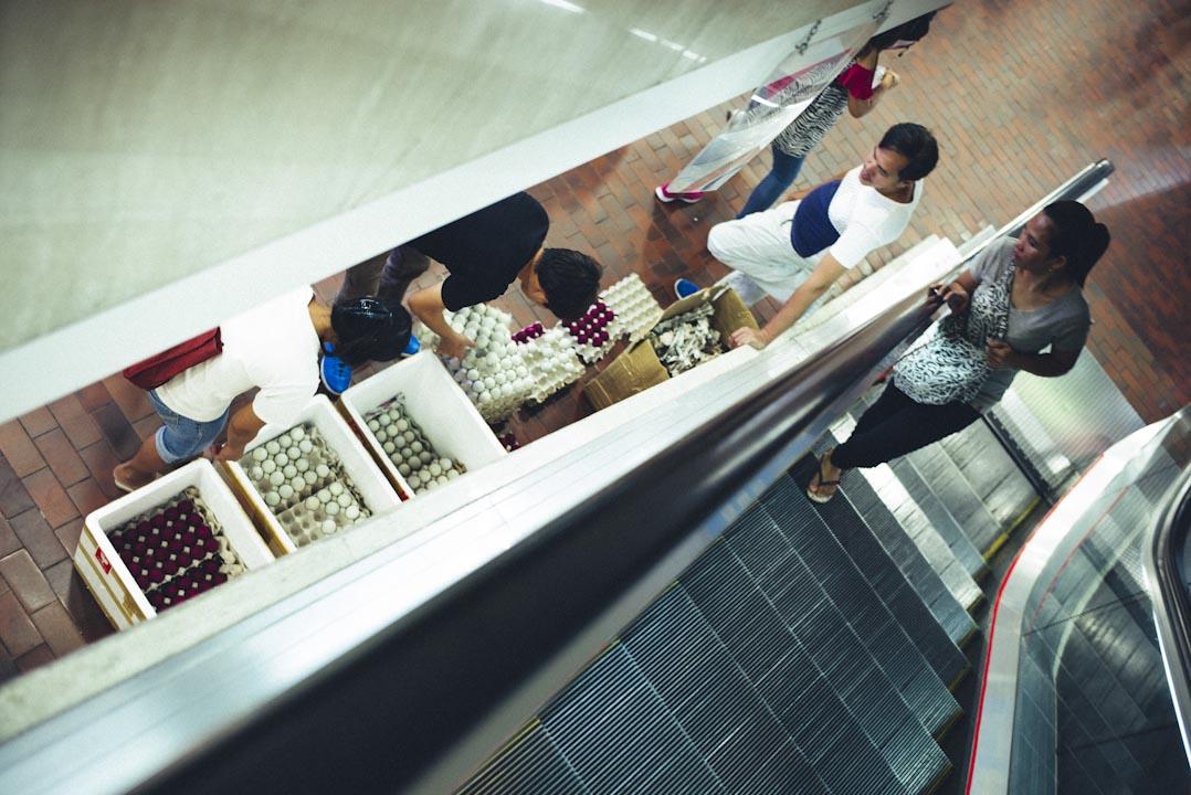 環球商場內的不少店都有售賣菲律賓特產的咸蛋。