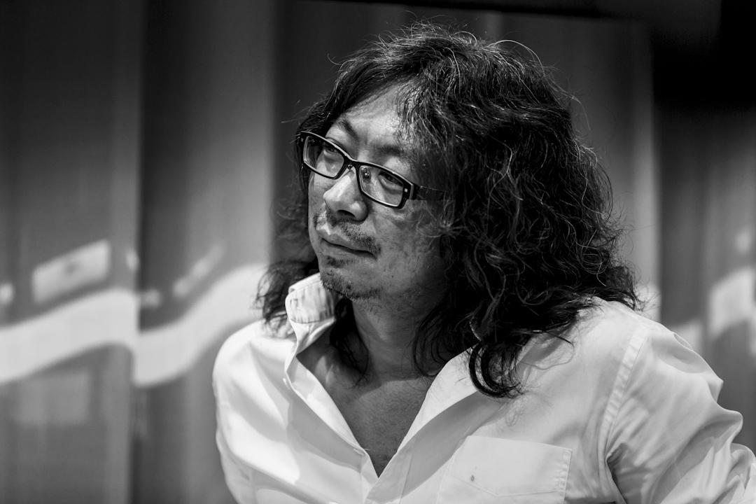 2013年9月7日,許知遠於北京單向街書店出席一個坐談會討論中國移民史。 攝:Imagine China