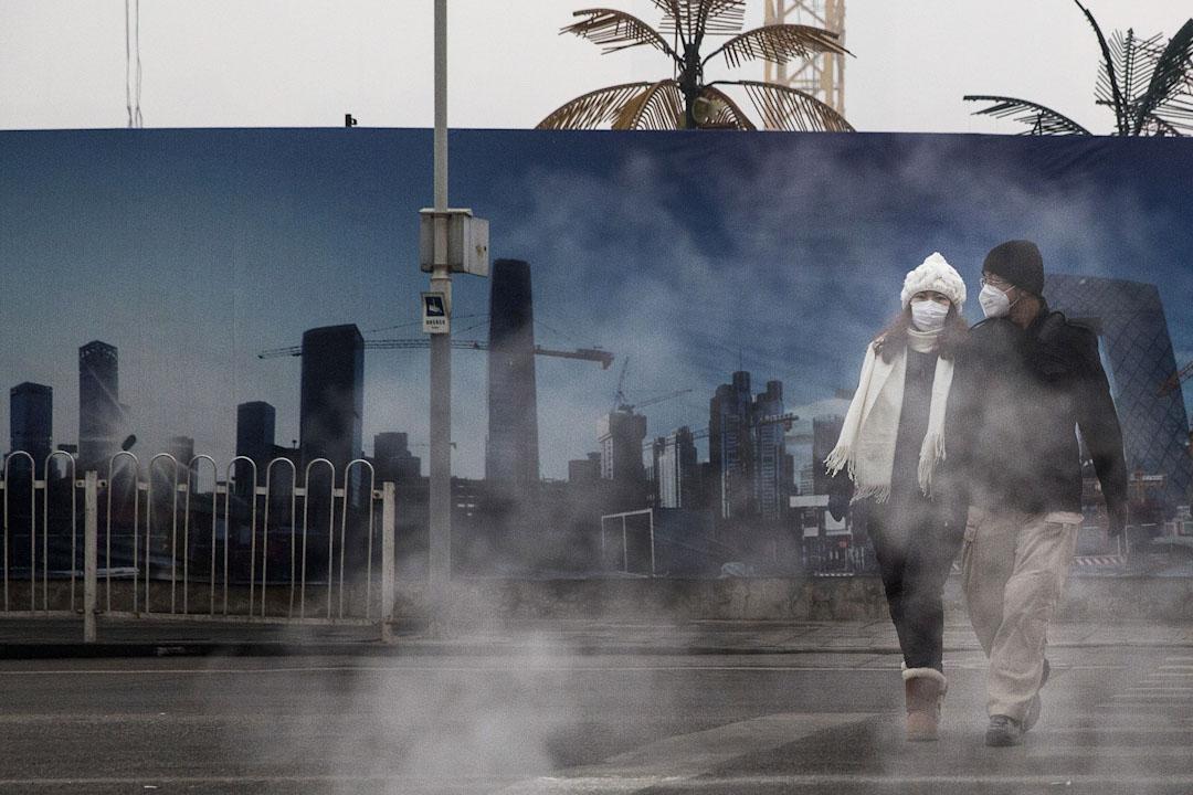 北京長時間都遭受到霧霾影響,空氣污染問題嚴重。