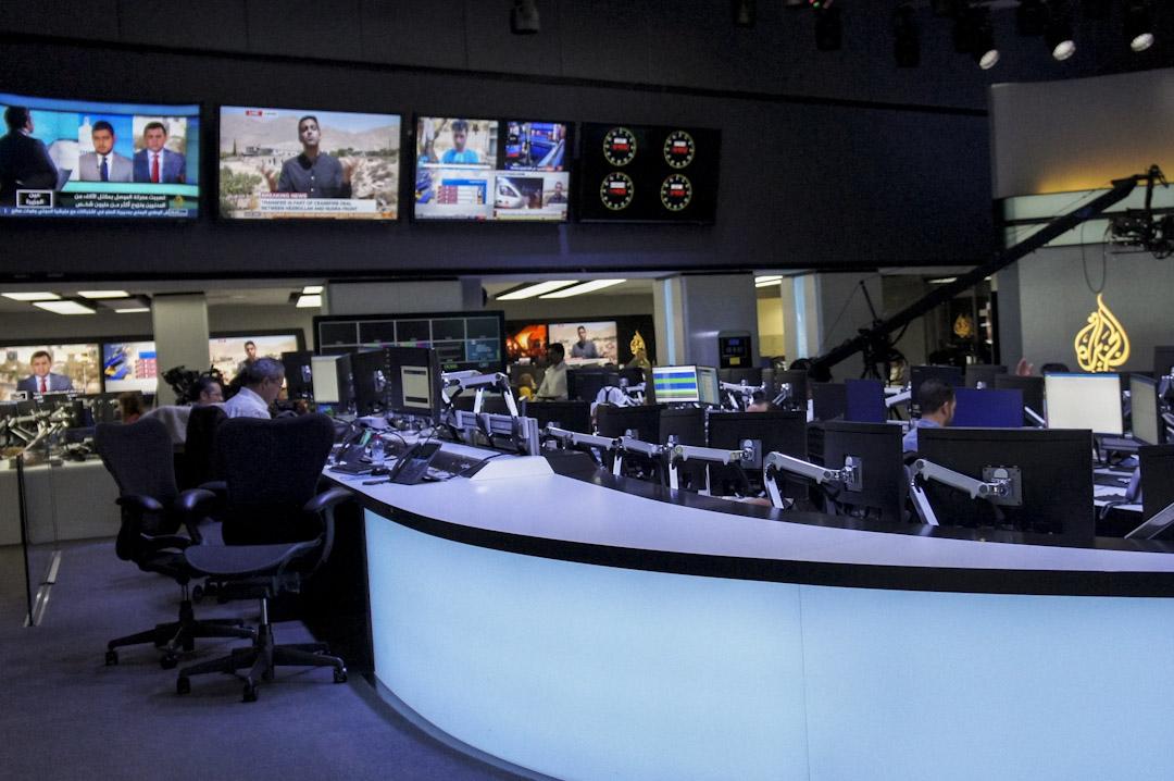 半島電視台新聞部。