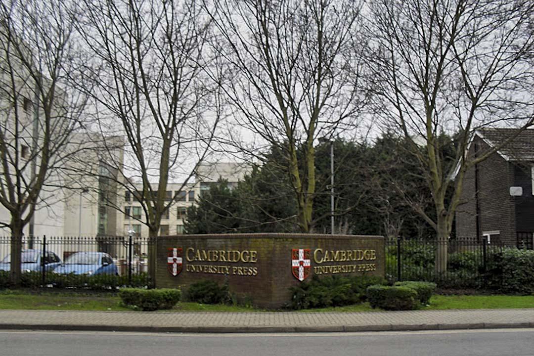劍橋大學出版社建立於1534年,目前出版超過380種經過同行審議的學術期刊,是世界上最富盛譽的學術出版機構之一。