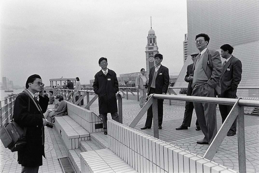 1994年,內地訪港旅客・尖沙咀。