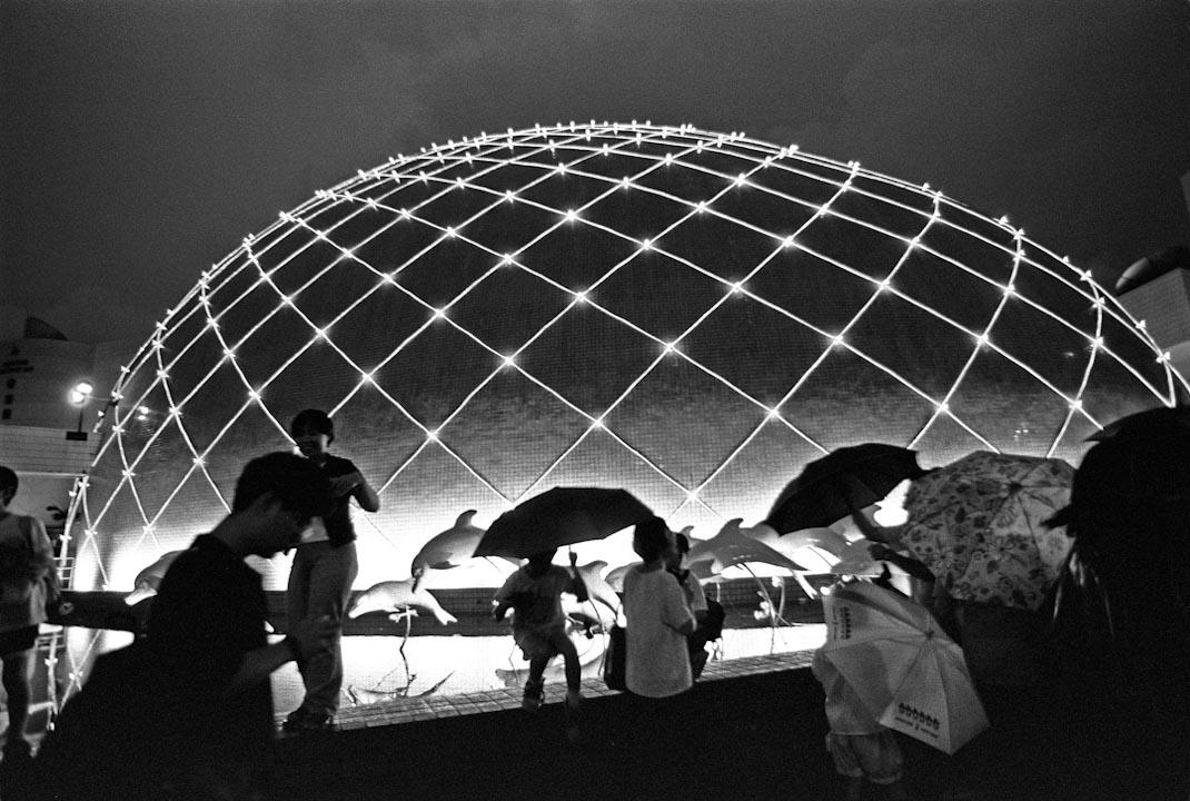 1997年,回歸前夕的香港太空館・尖沙咀。