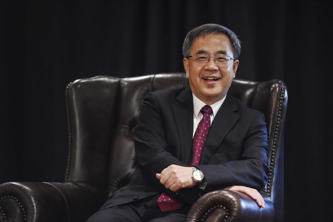 2015年5月25日,廣東省委書記胡春華在澳洲悉尼會見了澳大利亞華人華僑代表。