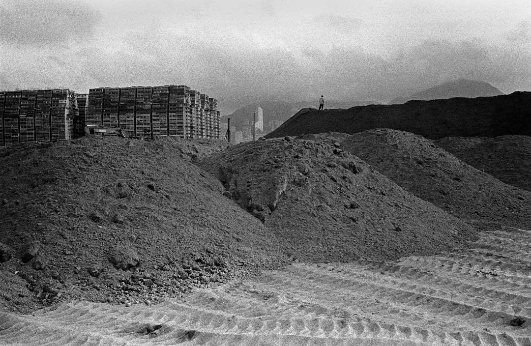 1994年,西九龍填海區。