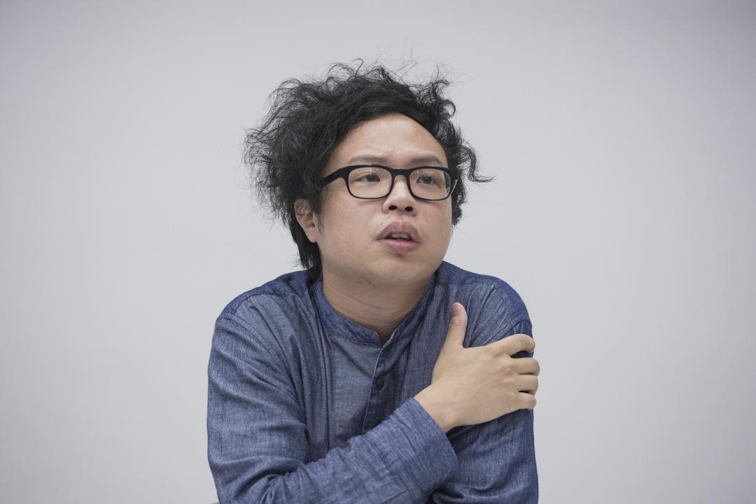 香港演藝學院人文學科講師黃宇軒。