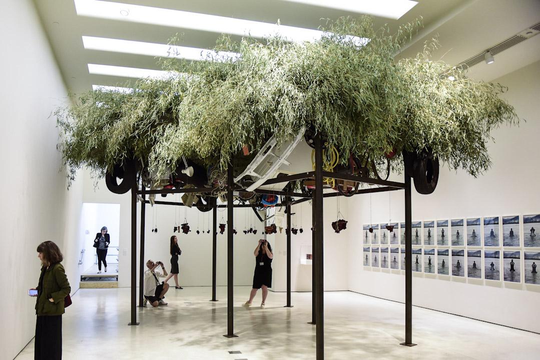 古根海姆美術館的「1989後的中國與藝術」展覽。  攝:Zheheng Hong /端傳媒