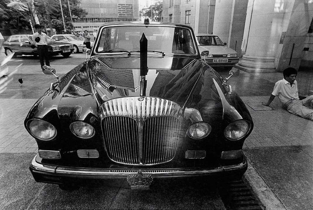 1992年,港督坐駕・立法局外。