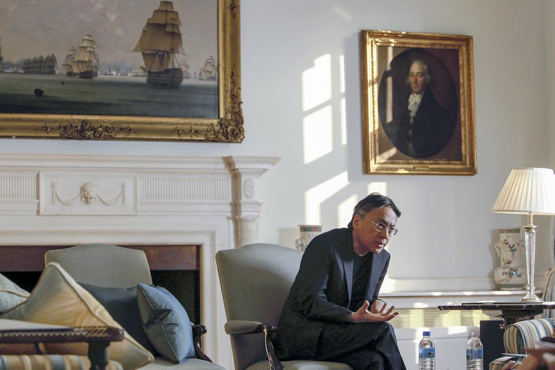 日裔英籍的作家石黑一雄獲得2017年諾貝爾文學獎。