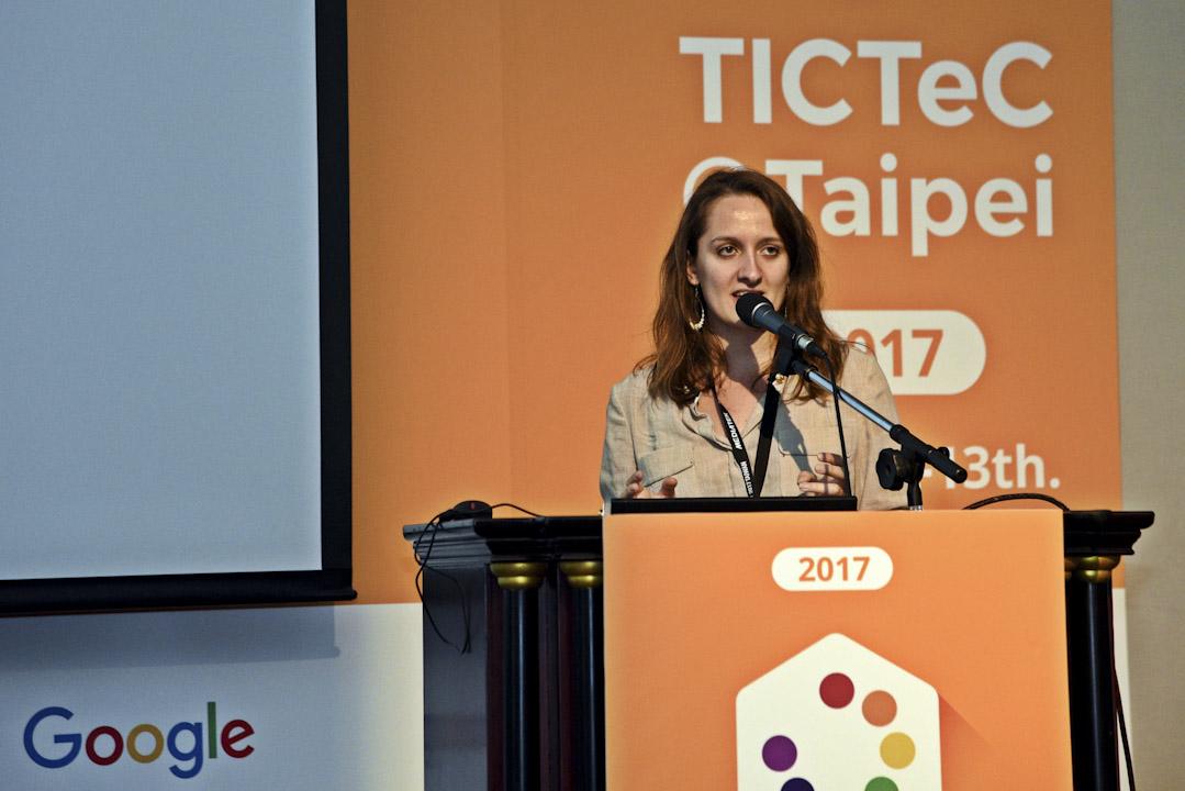 布拉斯今年 9 月來台參加在 TICTeC@Taipei 論壇,分享由法國政府主導公民科技的心法與挑戰。