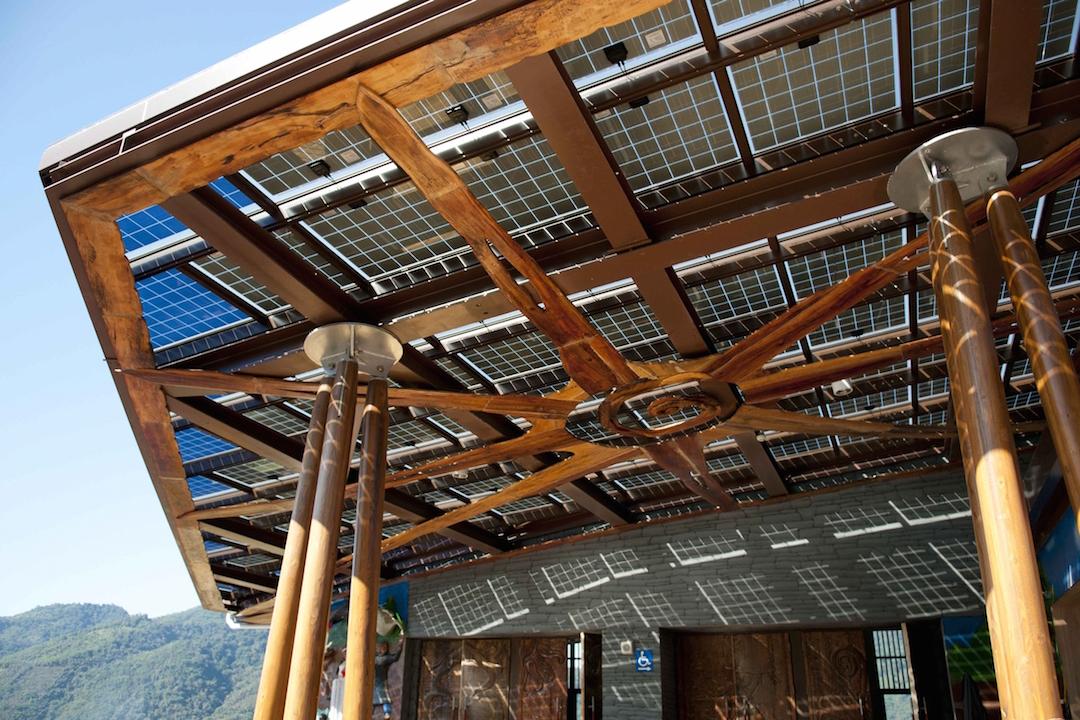那瑪夏區民權國小圖書館。 圖片來源: 台達電子文教基金會