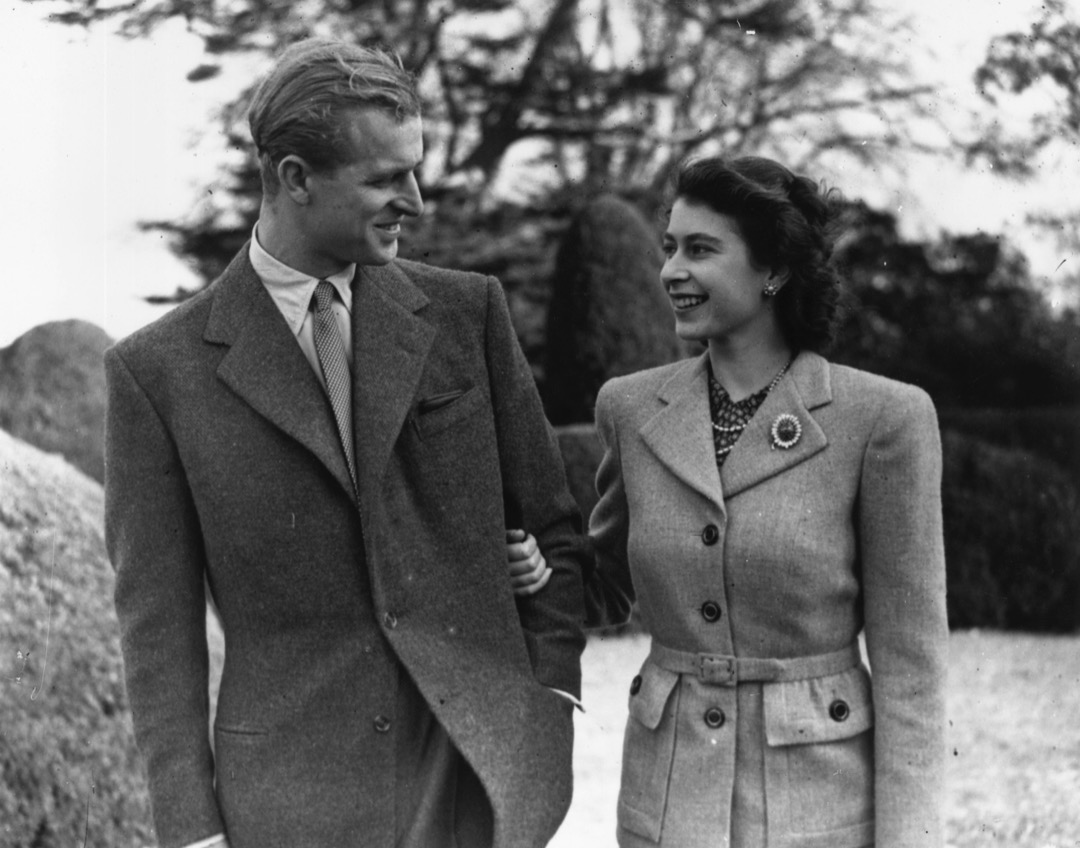 1947年11月24日,伊利沙伯公主與愛丁堡公爵菲臘在漢普郡度蜜月。