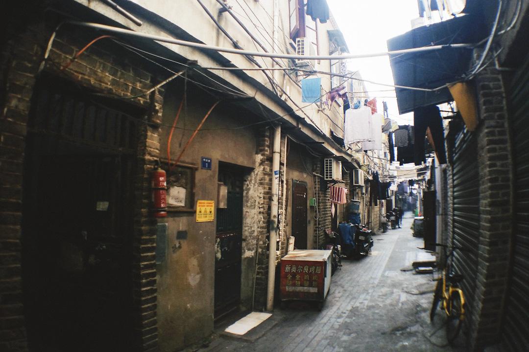 武漢的積慶里。 攝:Imagine China