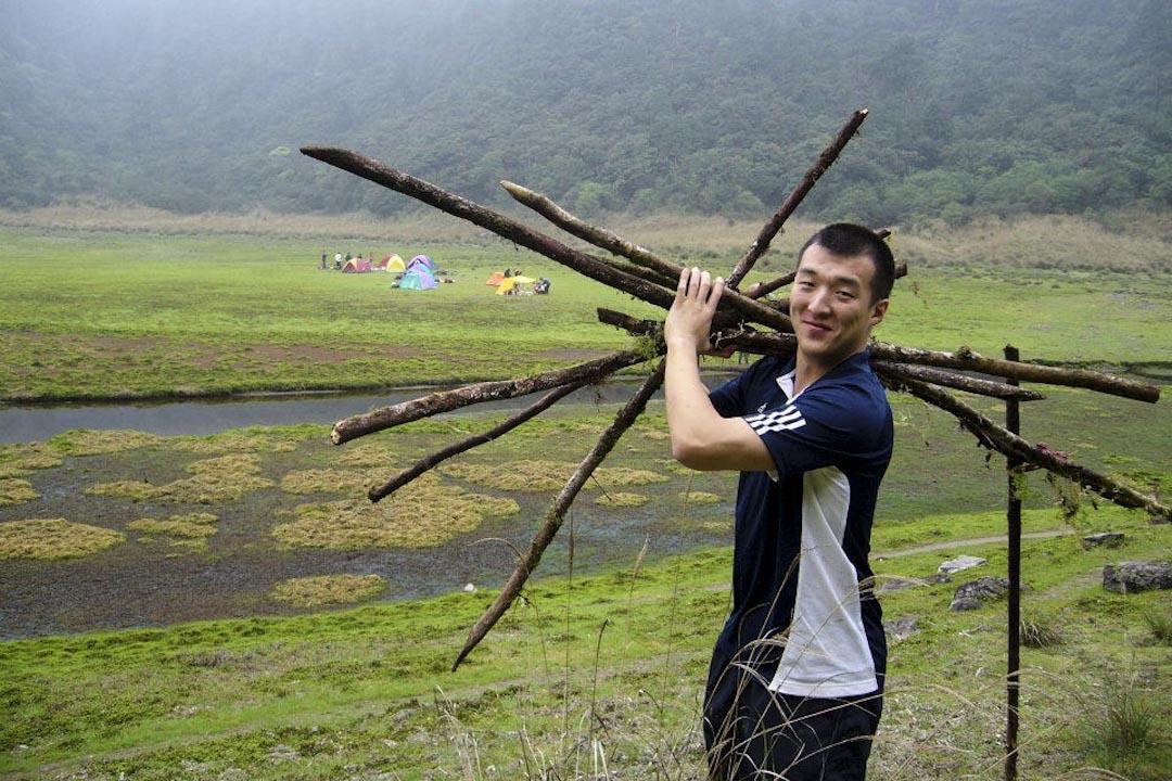 周泓旭出生於1987年,曾以陸生身份在台灣生活,近期又因投資緣由赴台,在台灣的歲月前後加起來大約5年。2017年9月15日,台北地方法院裁定周泓旭違反《國家安全法》,判囚14個月。 圖片來源:周泓旭 Facebook