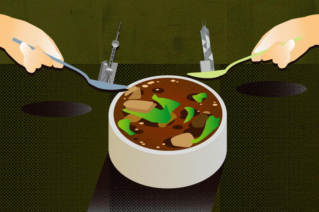 一碗咖哩牛肉粉絲湯,包含着的不僅是一種鄉愁,更是一段動盪的遷徙移民史 圖:Tsengly / 端傳媒