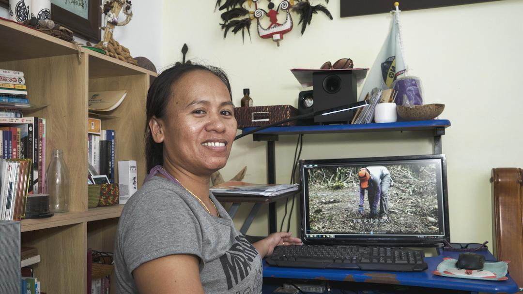 因為想了解蘭嶼的文化,謝福美把自己的家庭拍成了一部又一部紀錄片。