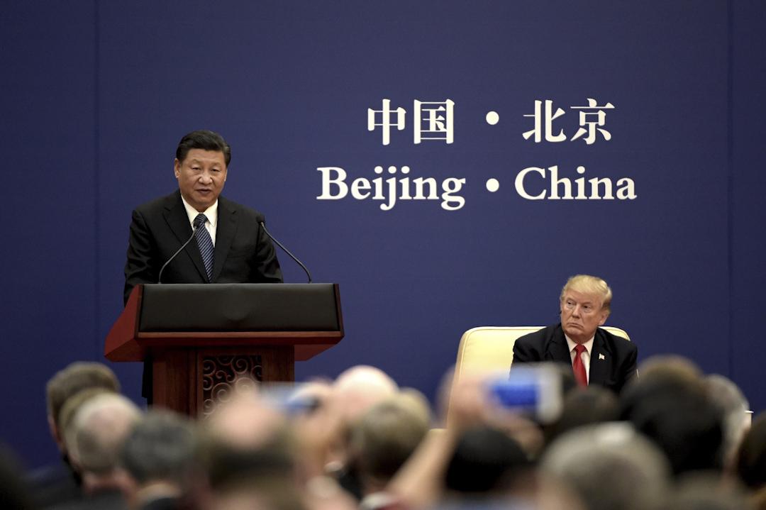 美國總統特朗普於2017年11月8至10日國事訪問中國,期間出席一系列活動。