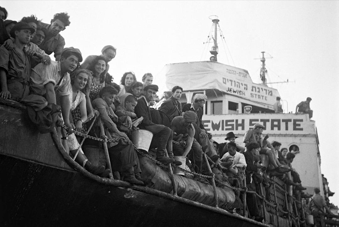 1947年,英國當局驅逐猶太移民。