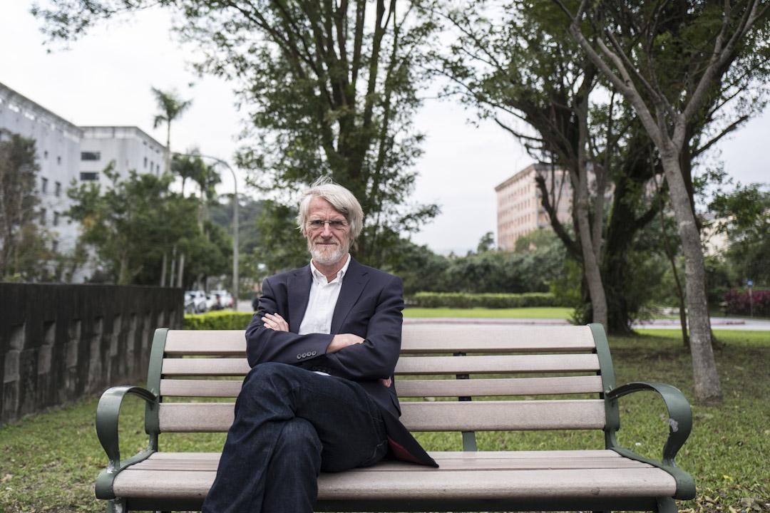 全民基本收入倡議者,比利時政治哲學家Philippe van Parijs。 攝:張國耀/端傳媒