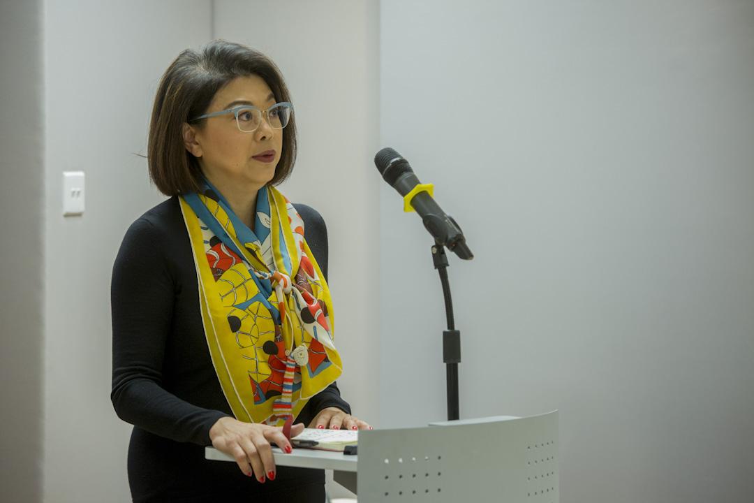 前大律師公會主席譚允芝。