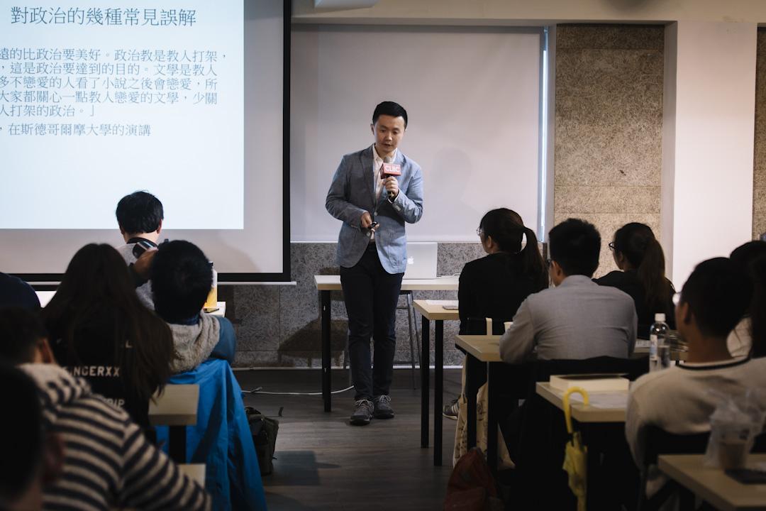 中國 「政見」及「新聞實驗室」創辦人方可成。