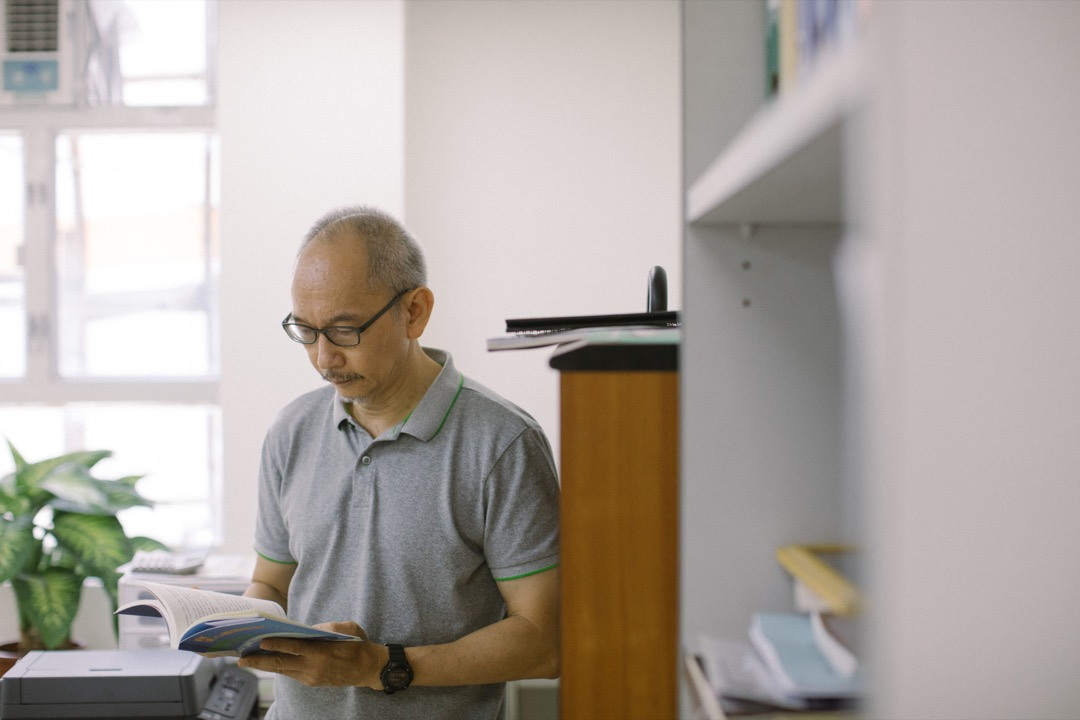 出版社「進一步多媒體」創辦人丁南僑。