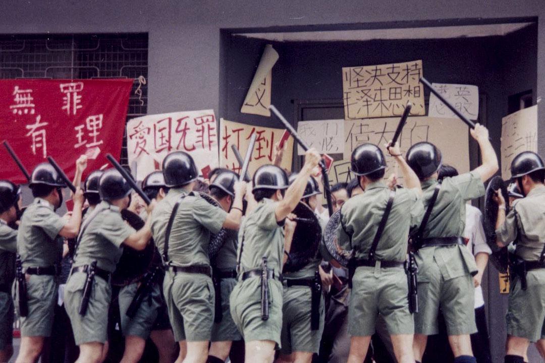 《皇家香港警察的最後一夜》電影截圖。