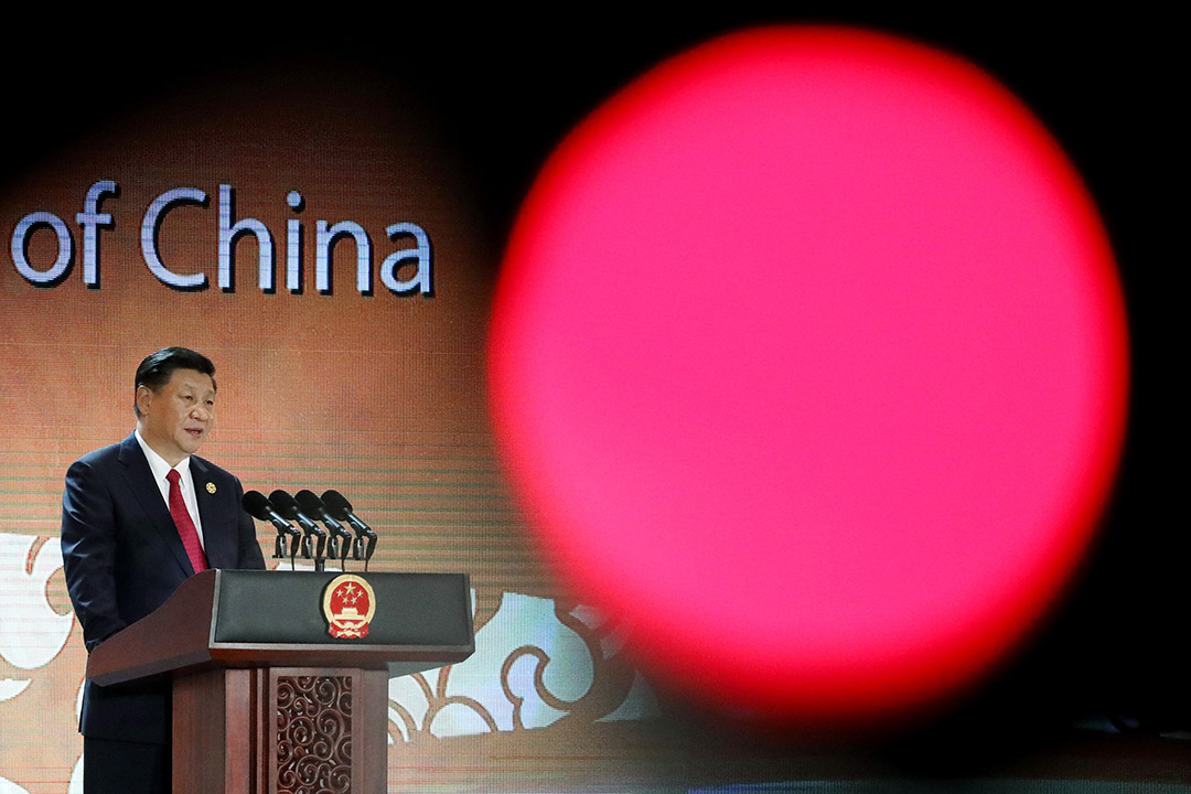 2017年11月10日,國家主席習近平出席亞太經合組織(APEC)領導人非正式會議。 攝:Seong Joon Cho/Getty Images