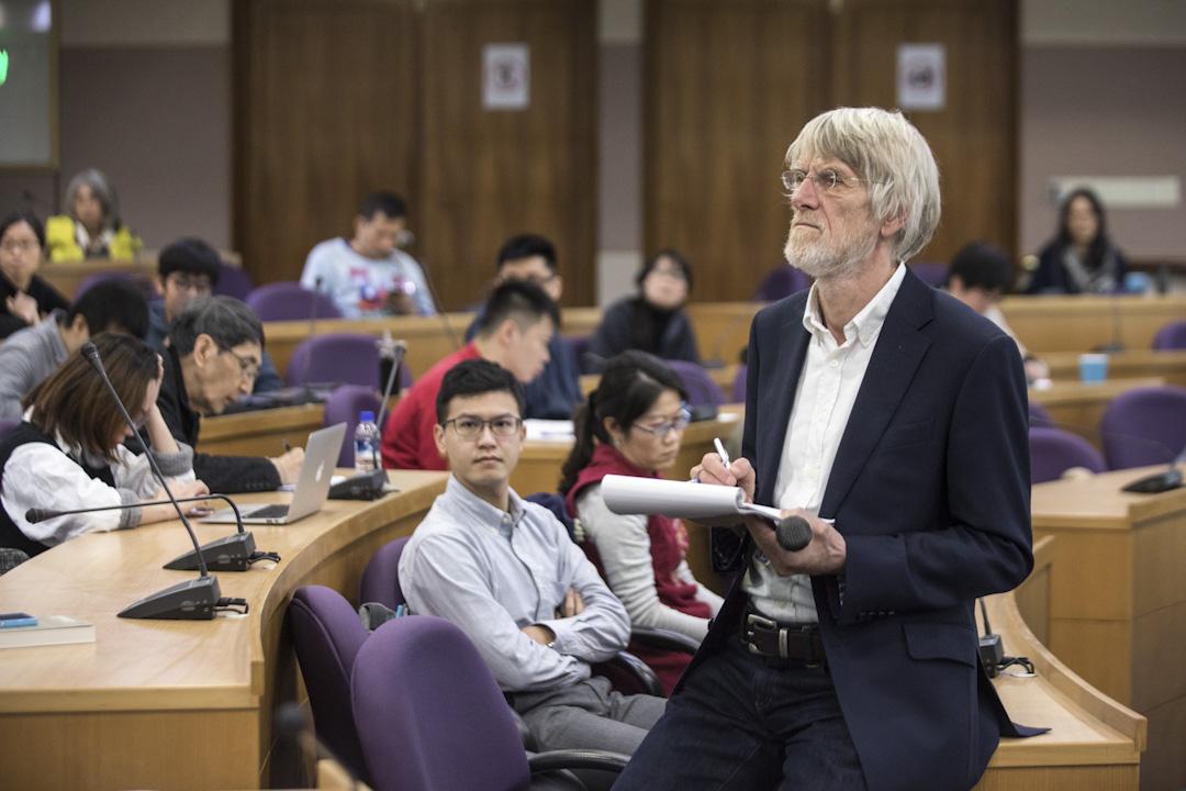 全民基本收入的理論家與倡議者Philippe Van Parijs來台灣進行系列講座。