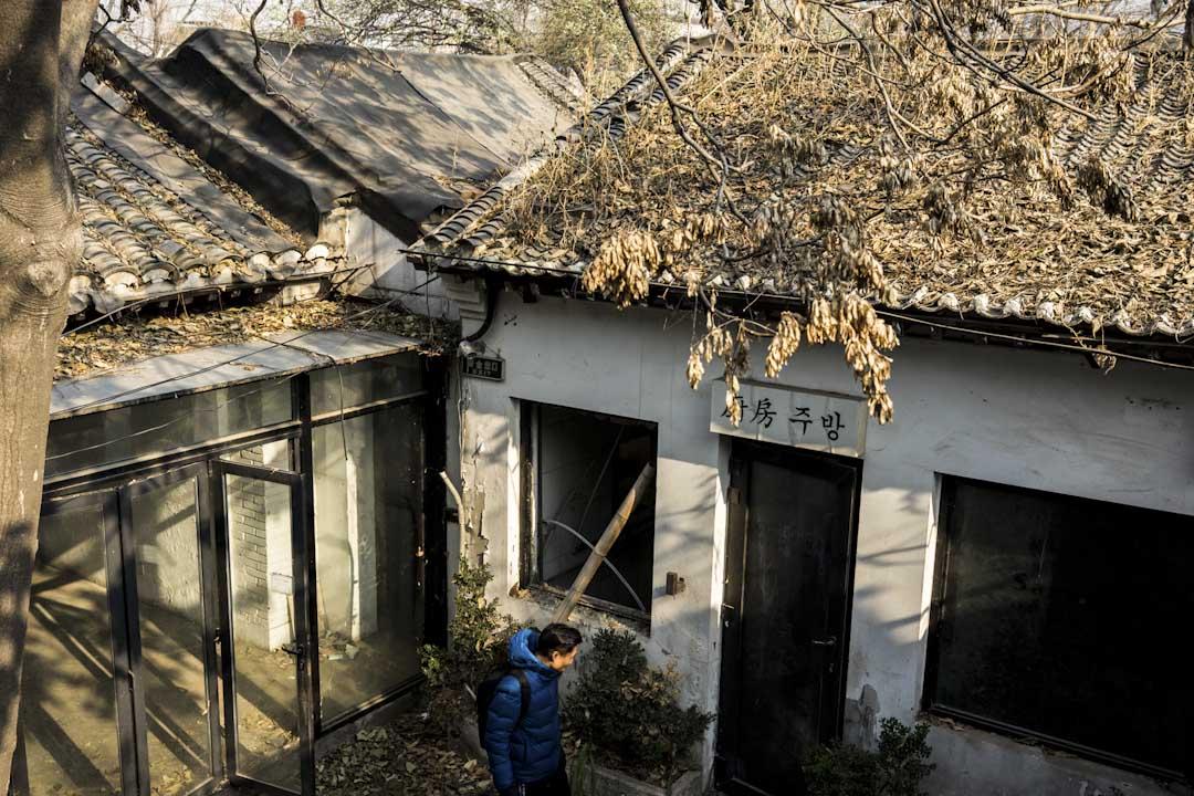 2017年冬天,景泰再次走進凋零了的菊兒胡同的四合院,在這裏,他曾經度過一段安穩美好的時光。