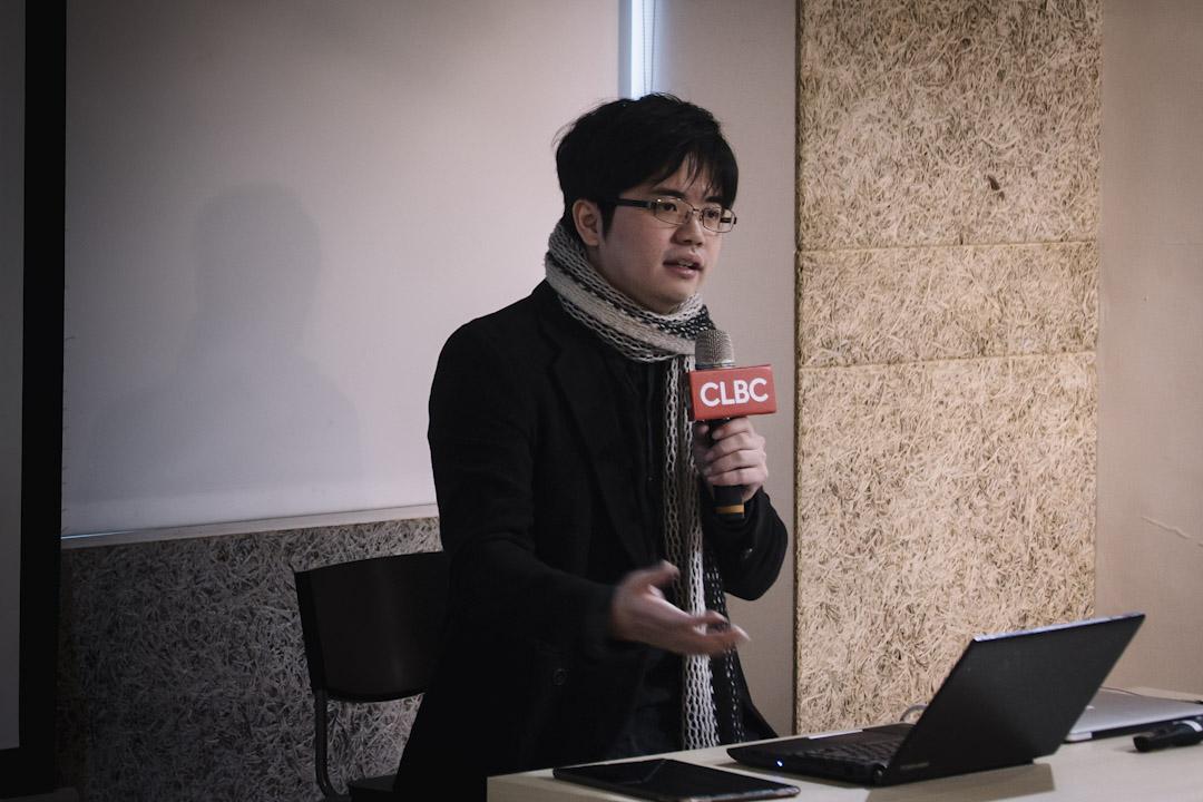 台灣 「沃草」創辦人林祖儀。
