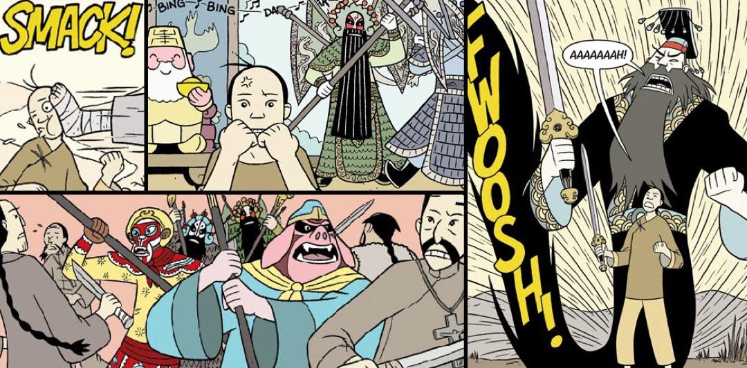 《義和團與聖徒》漫畫。