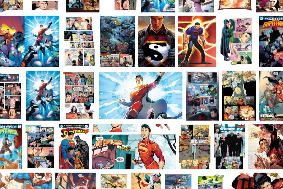 《新超人》漫畫。