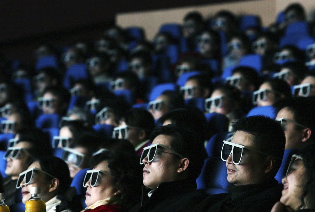 內參片,就是中國的意識形態管理部門挑選出來做非公開放映,以供給一些經過特許的人觀賞的影片。  攝:China Photos/Getty Images