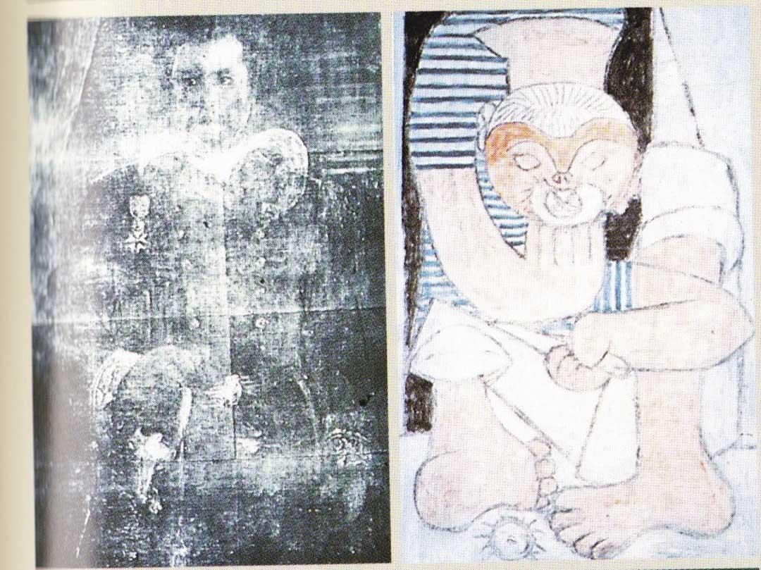 畢加索的《吃海膽的人》(Gobeur d』Oursins,Pablo Picasso)。