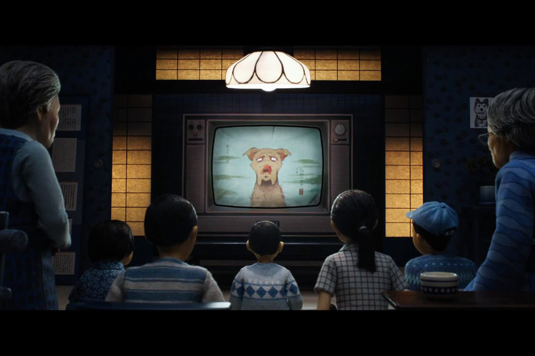 電影《Isle of Dogs》劇照 。