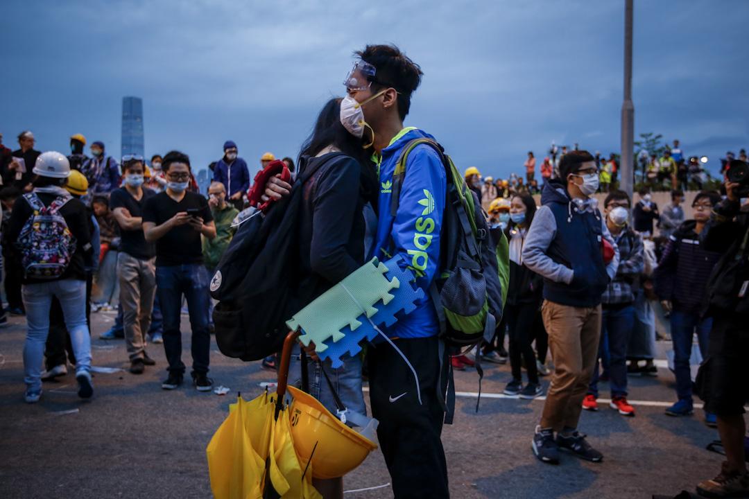 2014年持續了79天的雨傘運動,是香港歷史上最大型的公民抗命運動。 攝:林振東/端傳媒