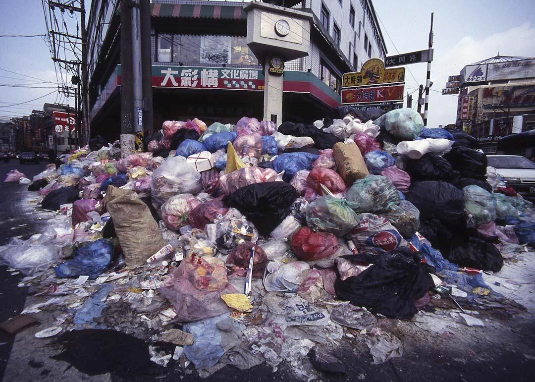 1996年9月,中壢市垃圾大戰。