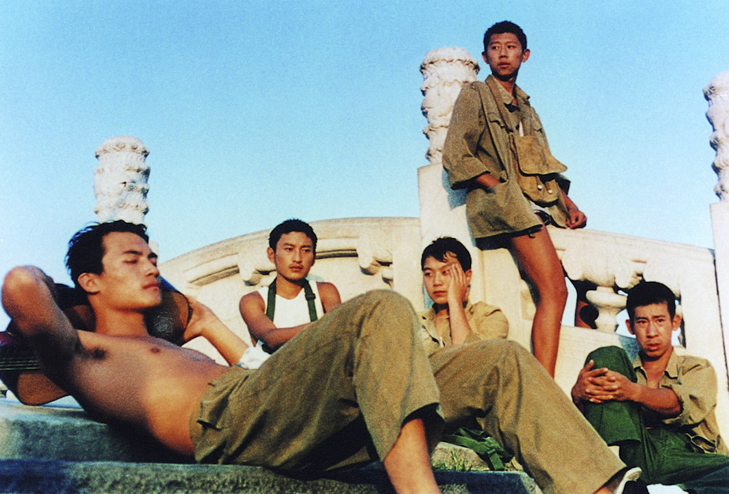 《陽光燦爛的日子》電影劇照。