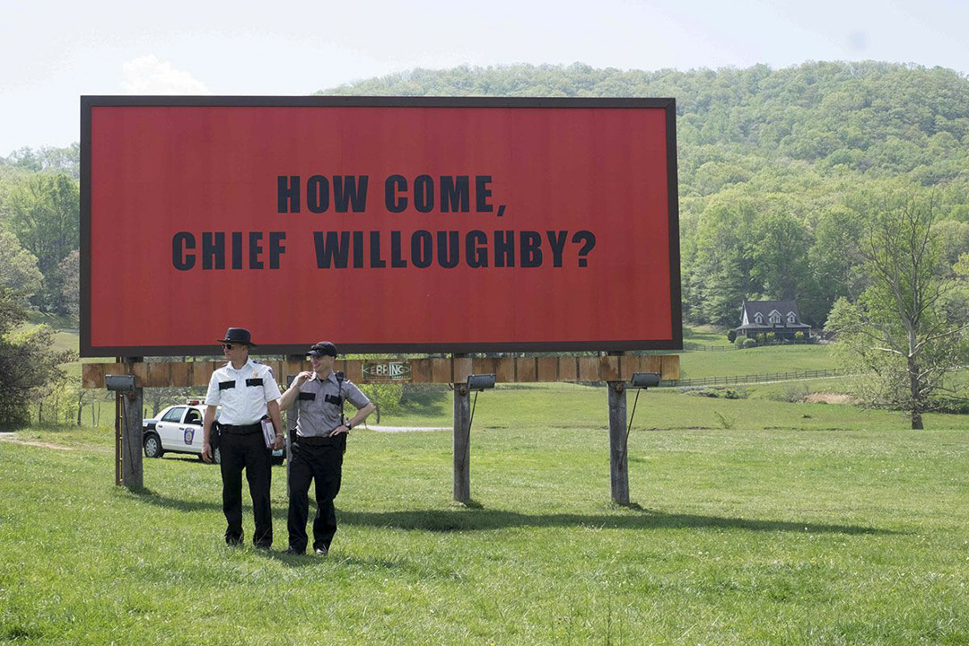 《廣告牌殺人事件》(Three Billboards Outside Ebbing, Missouri)電影劇照。