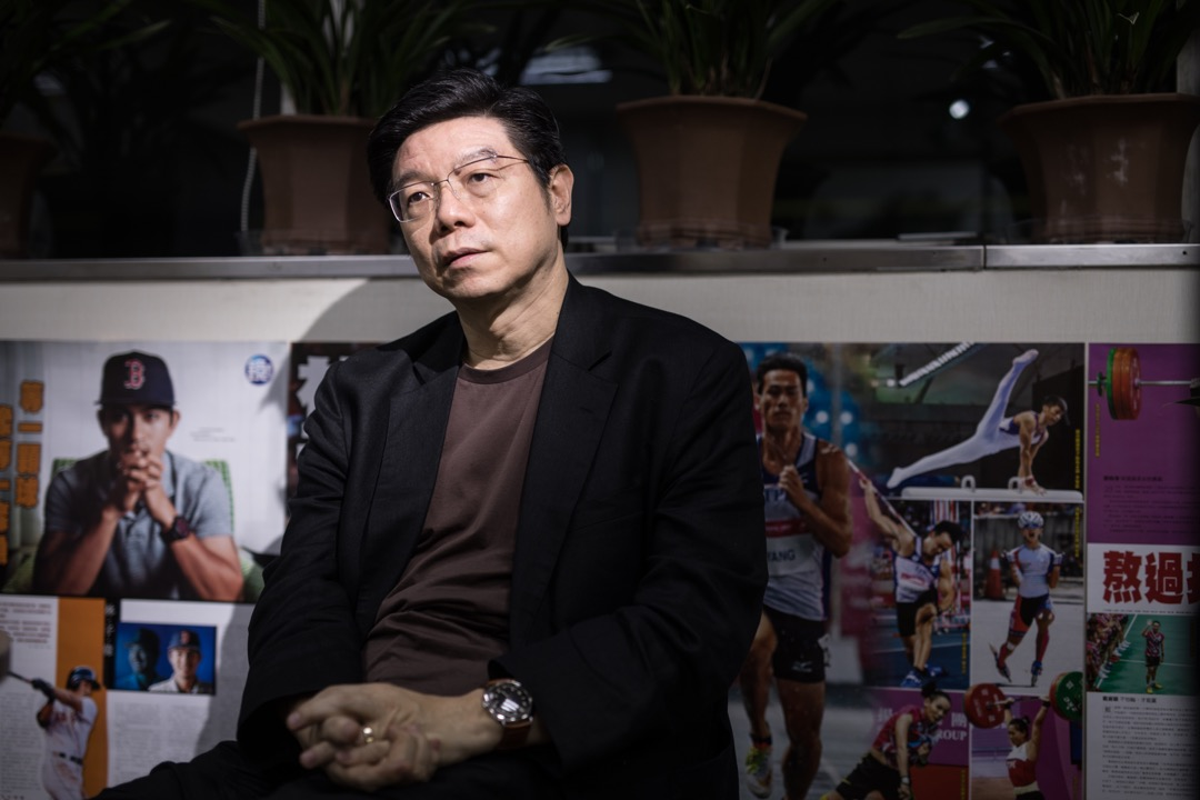精鏡傳媒集團董事長裴偉。